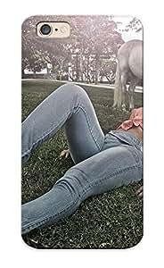 389d4624956 Walkintherain Horses Kelly Amorim Jeans Legs Grass Stileos Hat Girls Durable Iphone 6 Tpu Flexible Soft Case With Design