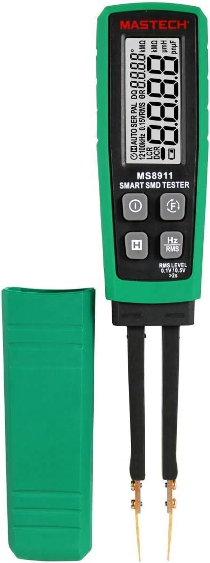 Mastech Ms8911 Smd Tester Automatische Reichweite Automatische Scanfunktion 6000 Counts Smd Tester Baumarkt