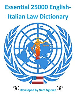 essential 25000 english italian law dictionary