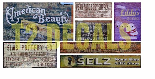 N Scale Ghost Sign Building / Structure Decals #38 for sale  Delivered anywhere in USA