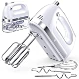 LILPARTNER Hand Mixer Electric, 400W Ultra Power