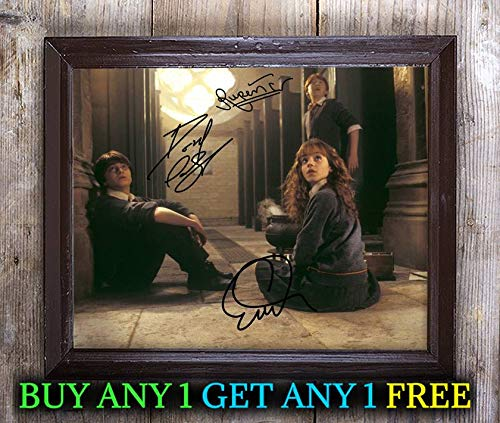 Harry Potter Philosopher's Stone Film Cast Autographed 8x10 Photo Reprint #78 Special Unique Gifts Ideas Him Her Best Friends Birthday Christmas Xmas Valentines Anniversary Fathers Mothers - Film Harry Photo Potter