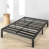 Mellow BP-E-BKT Rocky Base E 14' Platform Bed, Twin, Black