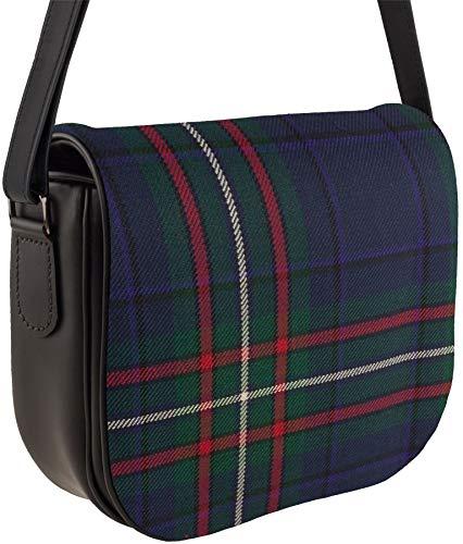Inside Handbag Pocket Tartan Shoulder Bag Back and Scottish Leather Heritage YTBq7BR