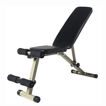 Bancos ajustables Heavy Duty Fitness Plegable Banco de pesas ajustable, entrenamiento en casa Gimnasio Levantamiento