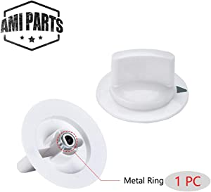 Dryer Knob Timer Control Knob WE1M652 with Reinforced Metal Ring Replacement Part Compatible with General Electric GE Dryer Part Replaces AP3995164 PS1482196