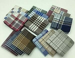 Cotton Handkerchief - 5 Pieces/Lot 40x40cm Thin 100% Cotton Light Color Male Female Handkerchief Men Women - Random Color