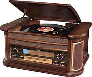 Roadstar HIF-1996BT Sistema de Audio Vintage con Bluetooth