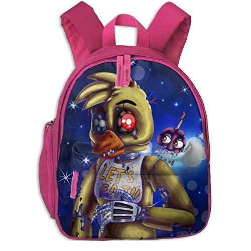 Nightmare Chica Five Nights at Freddy's Kids Toddler Backpack School Bag -