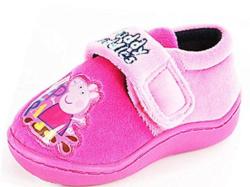 Foster Footwear , Mädchen Hausschuhe rosa rose Regulär