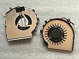 HK-Part Cpu Cooling Fan for MSI GE62VR GE72VR GP62VR GP62MVR GP72VR 4-Pin 4-Wire DC 5V, Part Number PAAD06015SL N366
