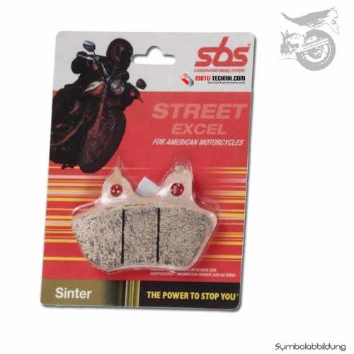 SBS Bremsbelag HINTEN 1998-2001 LS-Sinter Suzuki VL 1500 Intruder LC Bj