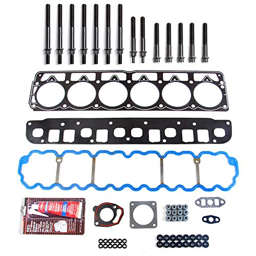 SCITOO Head Gasket Set Replacement for Cherokee Jeep Grand Cherokee Jeep Wrangler 1996-1998 Engine Head Gaskets Kit Sets with Bolts