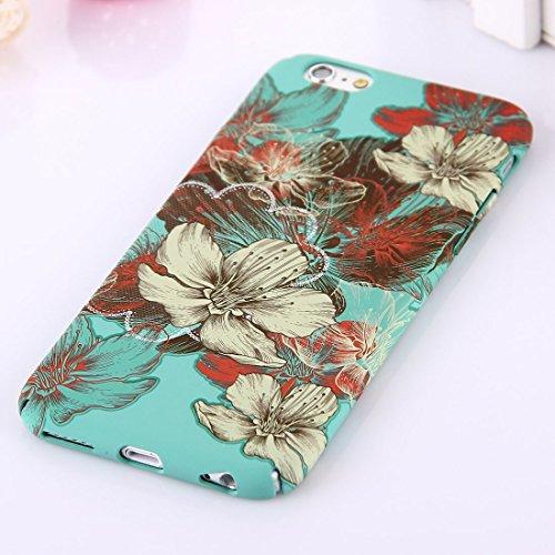 Phone Taschen & Schalen Für iPhone 6 Plus & 6s Plus National Style Blumenmuster PC Schutzhülle ( SKU : IP6P1068H )