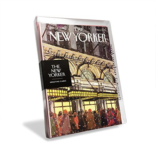 The New Yorker Magazine Cover Radio City Music Hall Holiday Cards (Box of 8)