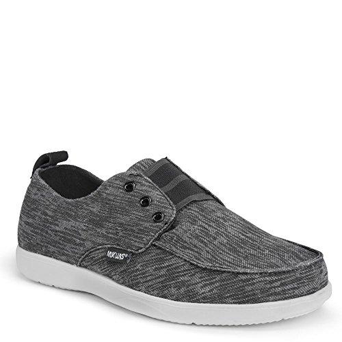 MUK LUKS Mens Billie Shoes Sneaker Black Z9DTfGMzr