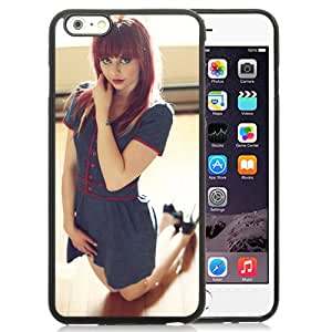 Unique Designed Cover Case For iPhone 6 Plus 5.5 Inch With Kneeling Redhead Girl Mobile Wallpaper Phone Case
