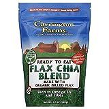 Carrington Farms Organic Flax Chia Blend, 12 Ounce - 6 per case.