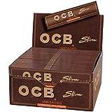 Boite de 50 paquets ocb slim, non blanchi