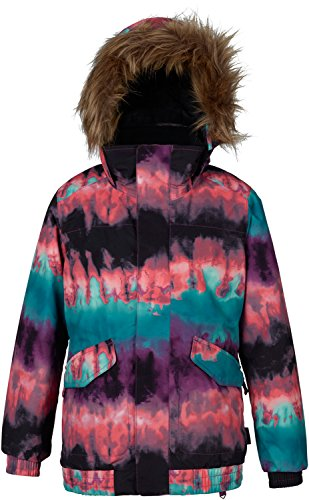 Burton Whiply Bomber Snowboard Jacket Girls SZ M by Burton
