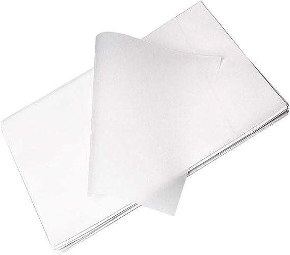 Lvcky 100 Hojas de Papel de calco A4, Papel translúcido sin ácidos ...