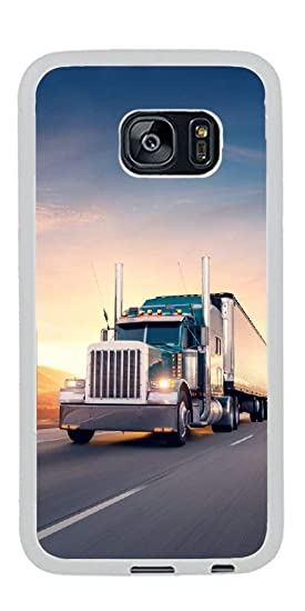 Truck Edge Mobile >> Amazon Com Gift Samsung Galaxy S7 Edge Case American