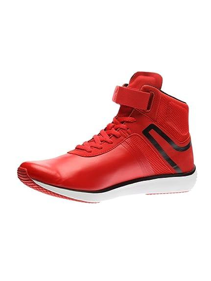 58991471ece Puma Men s F116 Skin Mid SF Rosso Corsa and Puma Black Sneakers - 11 UK