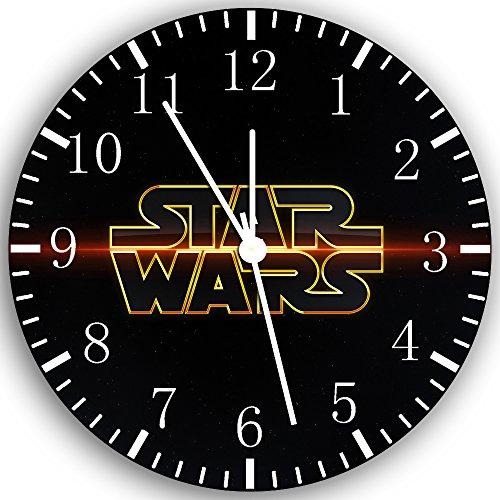 Borderless Star Wars Frameless Wall Clock Z64 Nice for Decor Or Gifts