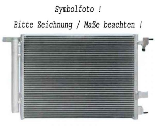 Diederichs 8102102 Radiator, radiator: