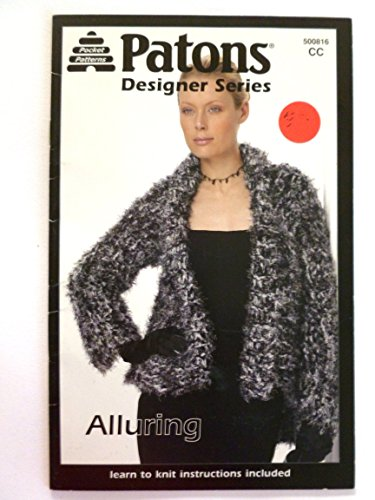 Alluring Learn to Knit Instructions Included (Patons Designer Series, 500816 CC)