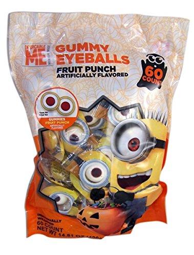 Galerie Halloween Universal Minions Gummy Eyeballs - 14.81oz/60ct