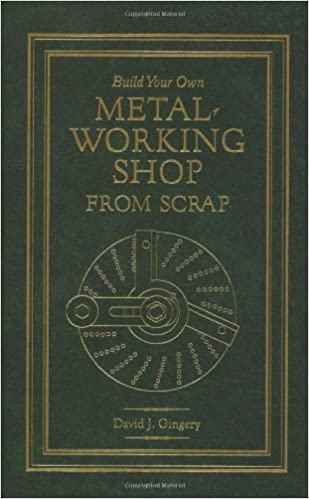 Build Your Own Metal Working Shop From Scrap (Complete 7 Book Series)