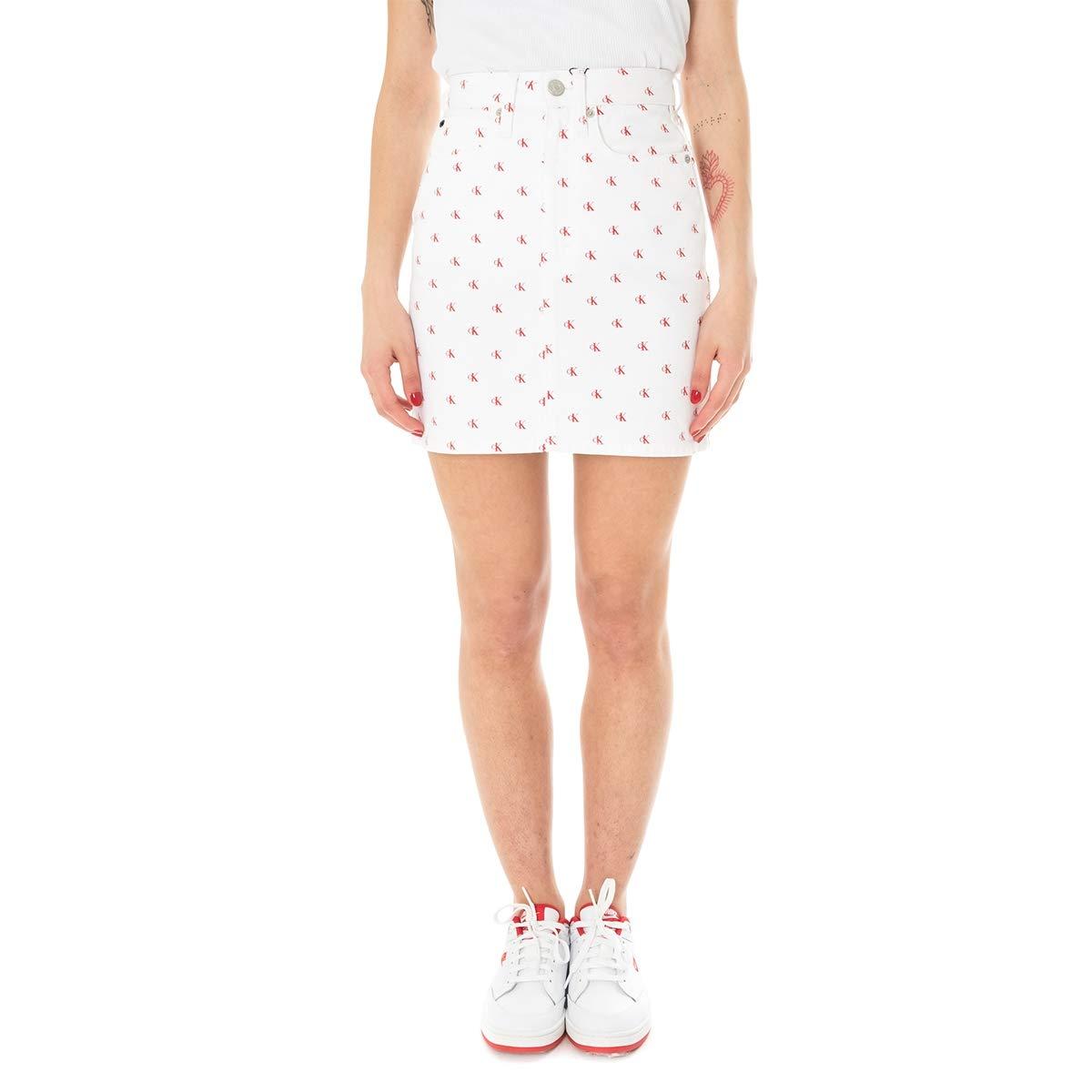 Calvin Klein Falda Mujer Mini Skirt J20J209961.911: Amazon.es ...
