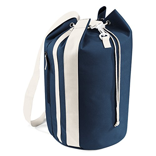Price comparison product image BagBase bag Sailor Closing Molleton Pacific sea bag 30x49x30cm 28L Sand French Navy