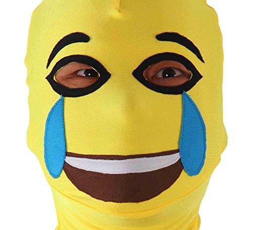 JustinCostume Lycra Spandex Full Cover Zentai Hood Mask ...