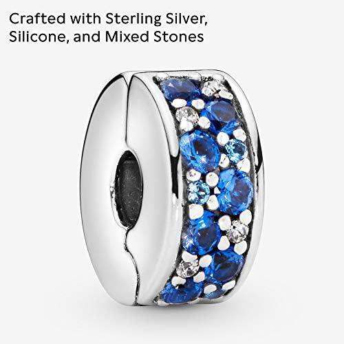 Pandora Women Silver Bead Charm - 791817NSBMX