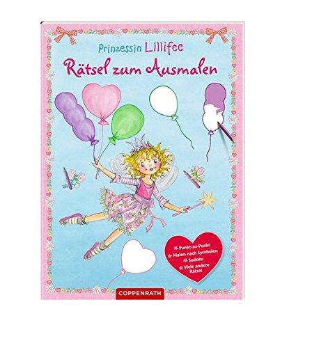 Prinzessin Lillifee: Rätsel zum Ausmalen (Kreativ- und Sachbücher)