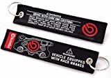 JDM NEW BREMBO DOUBLE SIDE Racing Cell Holders Keychain Universal BLACK NEW