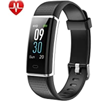 Willful Fitness Tracker,Colour Screen Smart Watches Fitness Watch Waterproof IP68 Fitness Trackers with Heart Rate Monitor,Pedometer Watch,Step Counter for Kids Women Men Call SMS Push for Android iOS