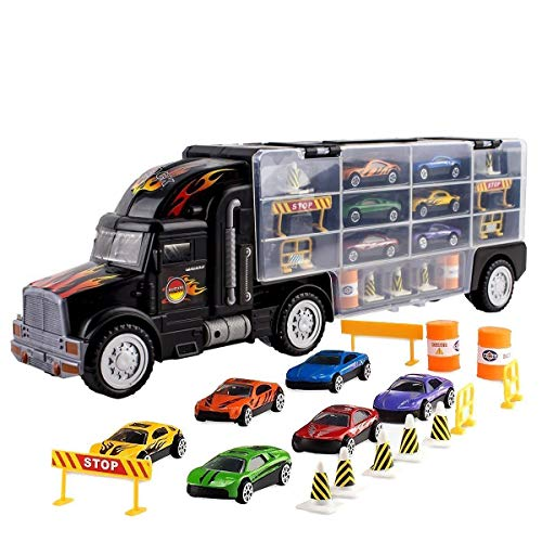 Toy Truck Transport Car