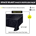 Space Party Tablecovers (2), Space Table Settings, Star Wars Party Supplies, School Events