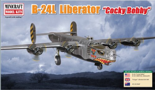 Minicraft Models B-24L Cocky Bobby 1/72 Scale