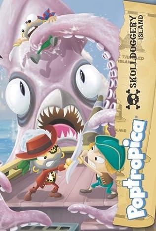 book cover of Skullduggery Island