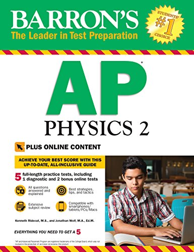 Barron's AP Physics 2: With Bonus Online Tests