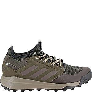 adidas Outdoor Men's Terrex Mountainpitch Walking-Shoes, Umber/Black/Simple Brown, 9 D US