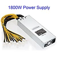 xlpace APW3 Mining Machine Power Supply for Antminer Miner S9 S7 1600W/1800W