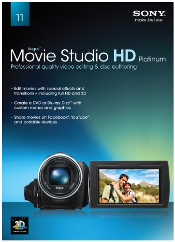 Sony Vegas Movie Studio HD Platinum 11 [Old Version]