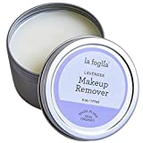 La Foglia Lavender Makeup Remover. 100% organic lavender makeup removal and face/ body cream made in USA with pure all natural ingredients.