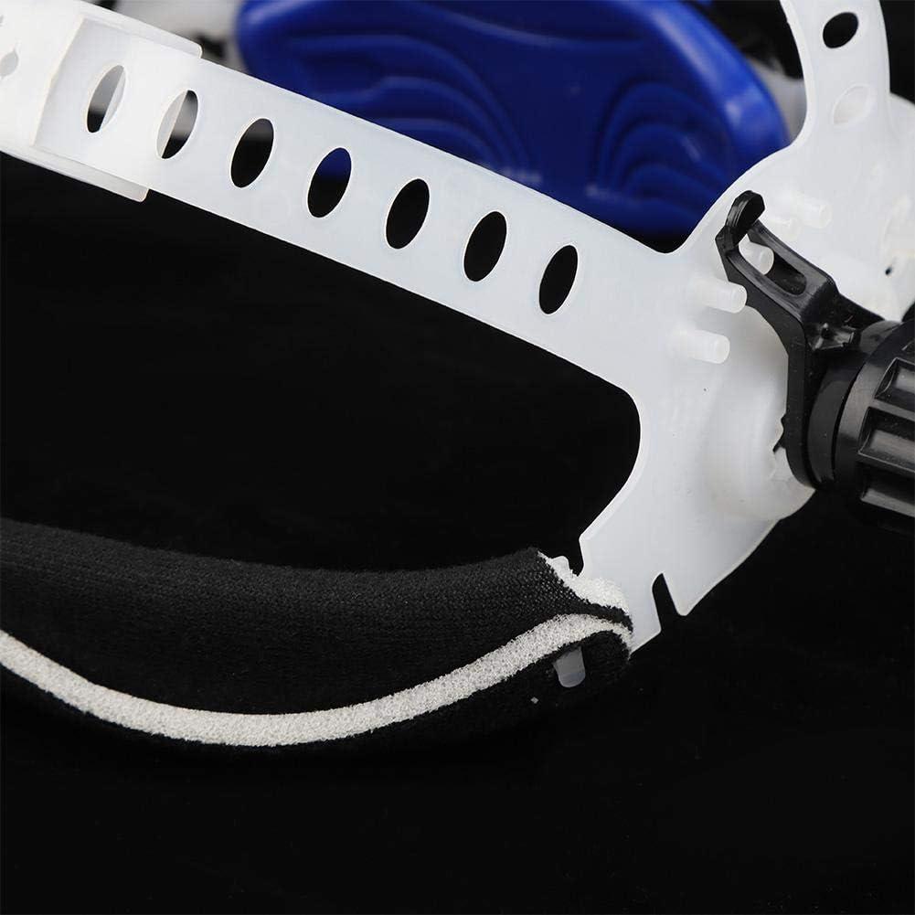 20 28 Blanco Diadema ajustable de m/áscara de soldador de soldadura para accesorios de casco de soldadura de oscurecimiento autom/ático solar 12 cm