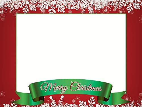 Merry Christmas Selfie Frame Poster DYI Photo Booth Frame Prop Christmas Decoration Christmas Party X-mas Christmas Photo Booth Christmas Frame Holiday Photo Booth Selfie Frame Sizes 36x24 Inches -